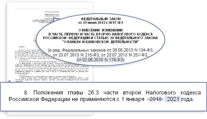 ЕНВД 2017 изменения